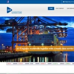 Web Design for Logistics Company