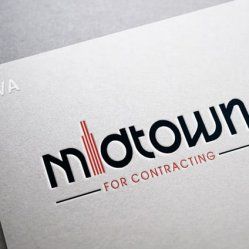 Design Logo For Contracting Company MIDTOWN