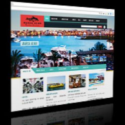 Web Design for Tourism Company - MARSA ALAM