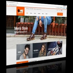 web design shoes store AMS Shoes